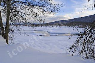 Παγωμένη λίμνη Πλαστήρα 2, Φεβρουάριος 2012