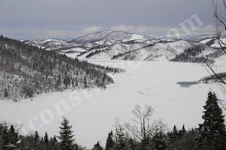 Παγωμένη λίμνη Πλαστήρα Φεβρουάριος 2012