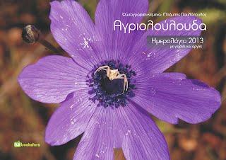 Αγριολούλουδα, εκδόσεις Bookstars, Επιτοίχιο ημερολόγιο-λεύκωμα 2013
